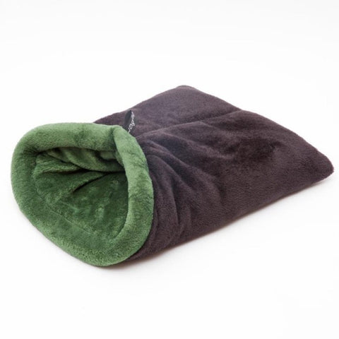 WagWorld Nookie Dog Blanket - Black & Green