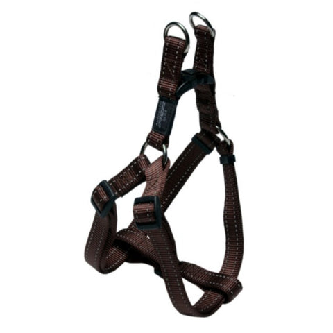 Rogz Brown Step-in Dog Harness