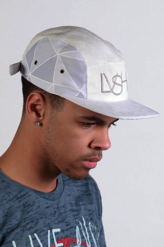 LVSH Snow Suede 5 Panel hat