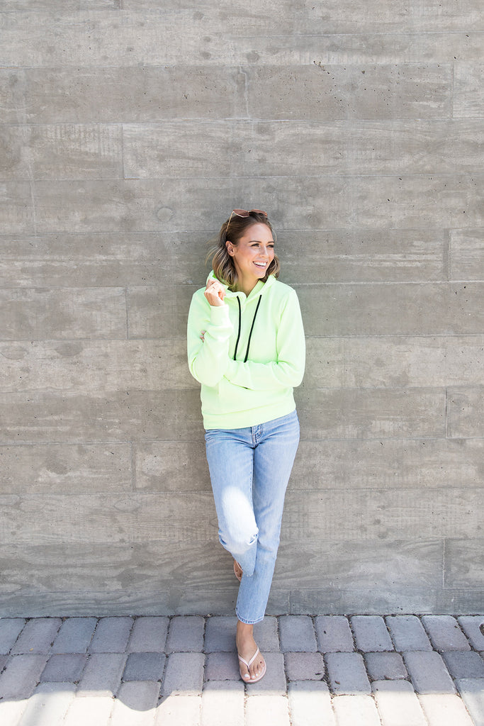 Neon Pullover Hoodie