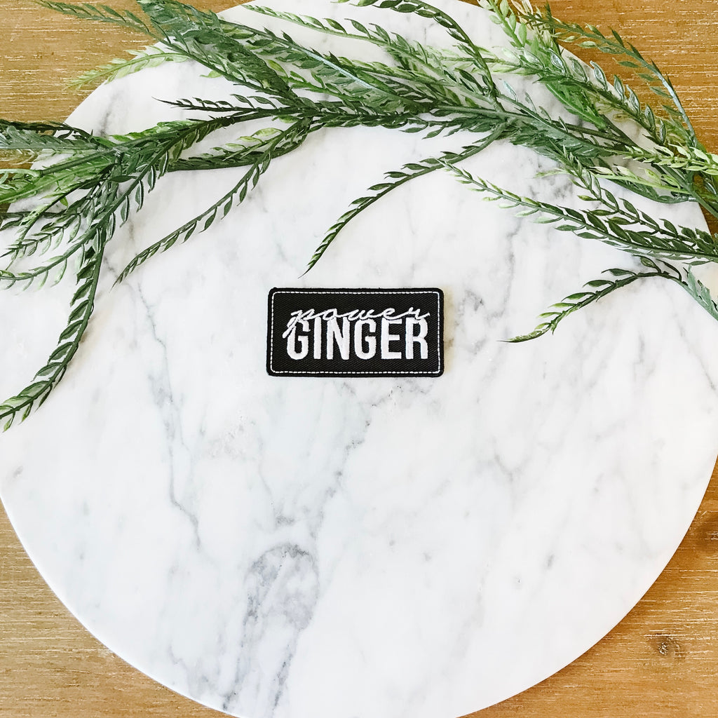 "1.5""x3"" Power Ginger Patch"