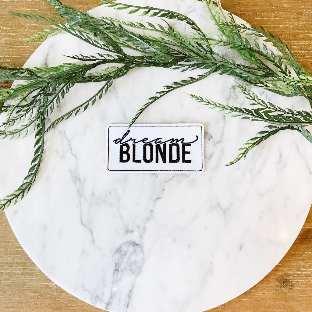 "4"" Dream Blonde Patch"
