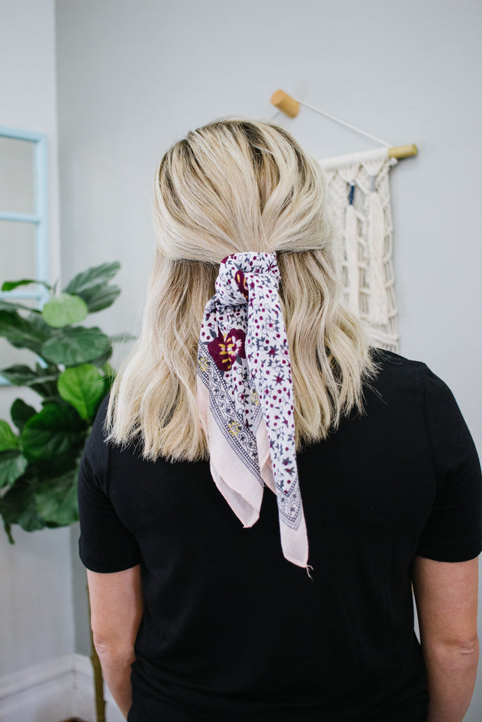Dusty Rose Bandana