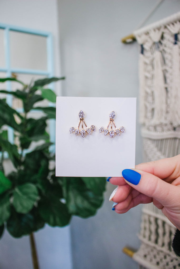 Crystal Stud & Drop Earrings