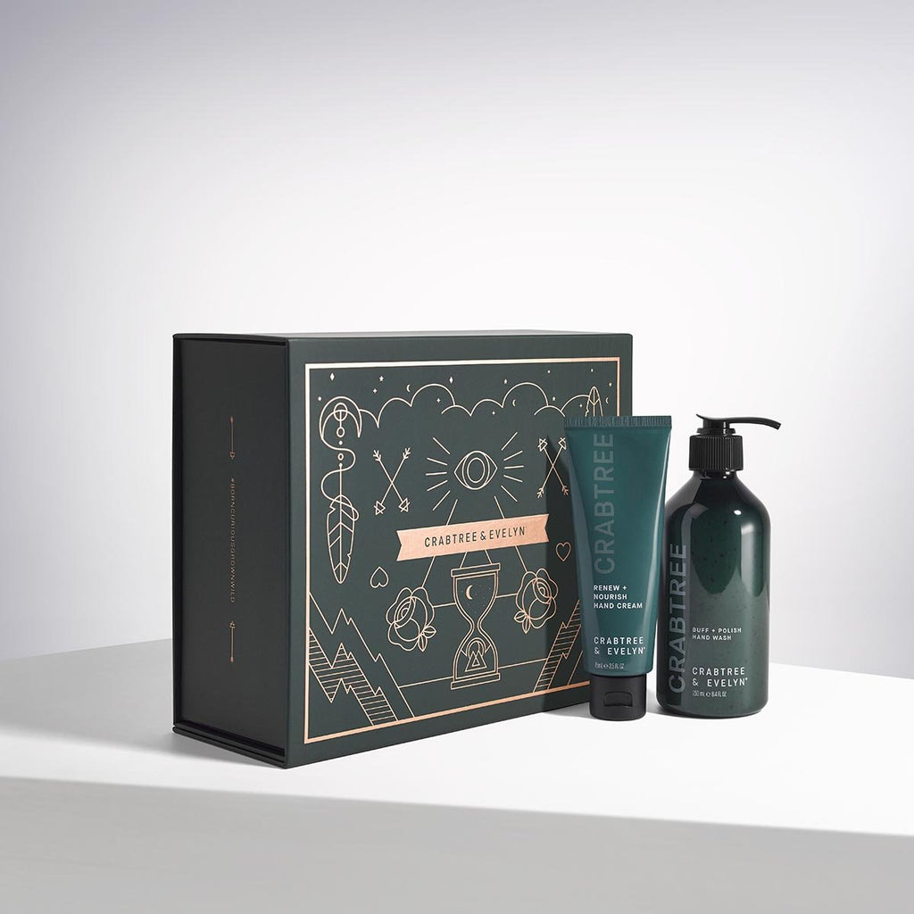 Crabtree Buff + Brighten Hand Care Set