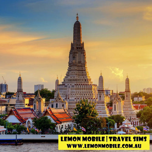 8 Days TrueMove H  Thailand Travel SIM Card | 9GB high-speed data | 100 Thai Baht credit