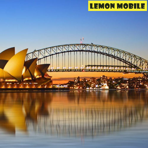 Australia Travel SIM Card | 28 Days 36/50GB data | Unlimited local calls and texts | Unlimited calls to 12 countries