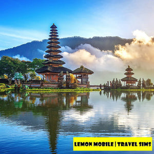 7/15 Days Bali/Indonesia Travel SIM Card | Premium Unlimited Data | No Speed Cap