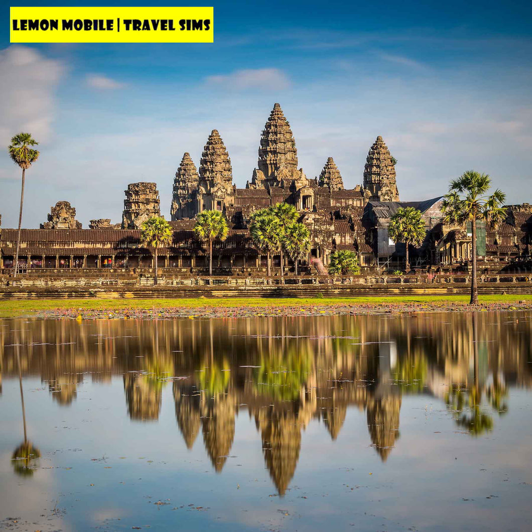 7-15 Days Cambodia + Vietnam Travel SIM Card | VIP Unlimited Data | No Speed Cap