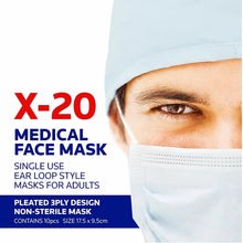 Load image into Gallery viewer, TGA approved Medical Masks| Jema Rose X-20 Masks | Guaranteed delivery within 2 business days
