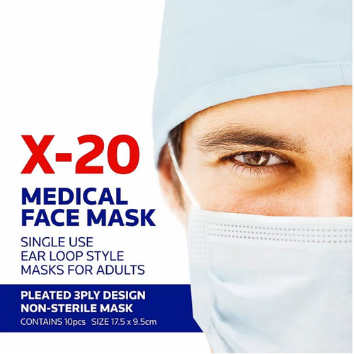 TGA approved Medical Masks| Jema Rose X-20 Masks | Guaranteed delivery within 2 business days