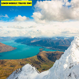 7-15 Days New Zealand + Australia Travel SIM Card | Unlimited Data | Plug-n-Play