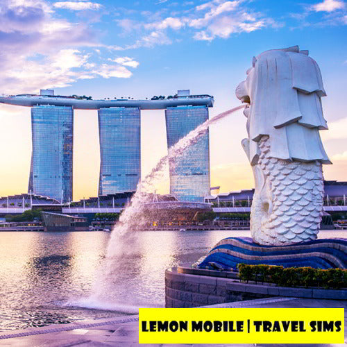 7/15 Days Singapore + Malaysia Travel SIM Card | Premium Unlimited Data | No Speed Cap