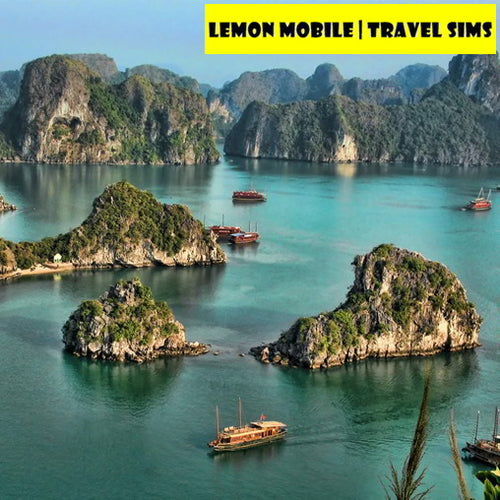 Vietnam 20/30 Days Travel SIM Card | 60/120GB High-speed Data + Unlimited 3G Data