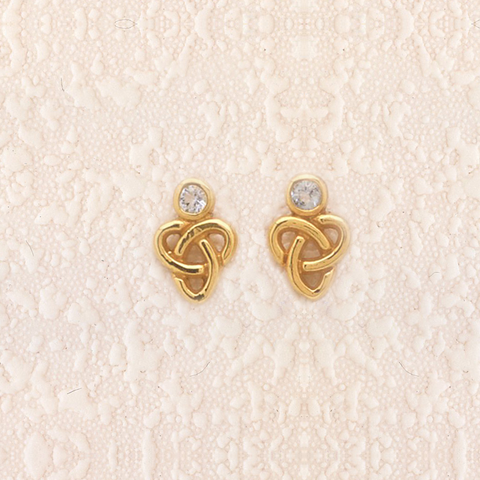 AME1 - Forever Knot Earrings