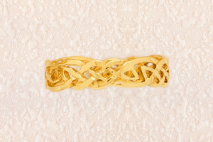 The Lover's Knot Wedding Ring By Dorothy Hood Jewellery
