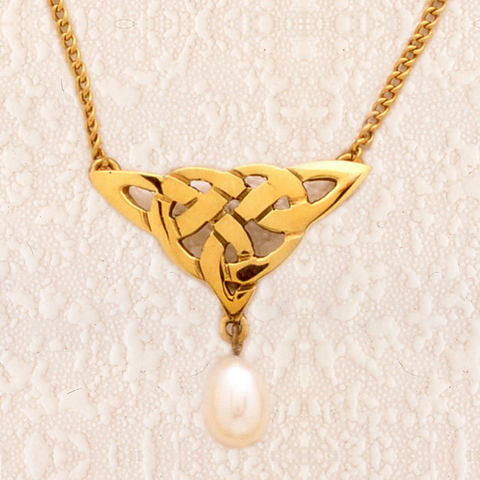 CP1 - Lace Triangle Pendant