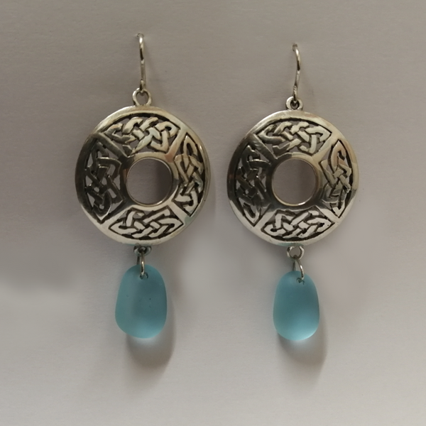 Celtic Rondel Earrings (ER1)