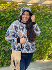 Yearning for Adventure Oversized Hoodie