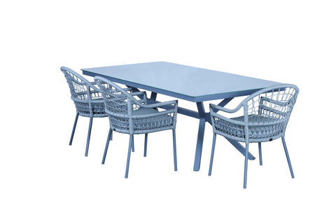 Sardinia outdoor dining set - Ambar Garden furniture