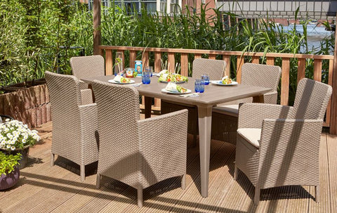 lima dining set, ambar garden furniture