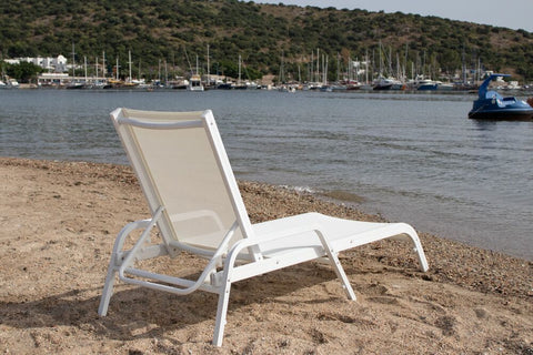 sling hawai subbed in white, Ambar garden furniture