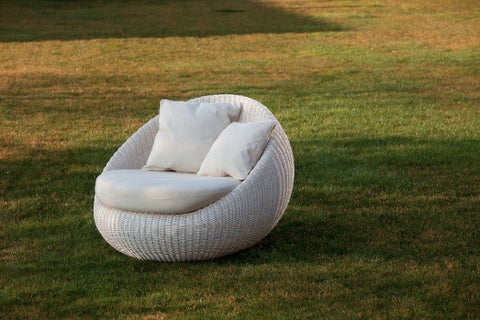 Elba white sofa - Ambar Garden Furniture