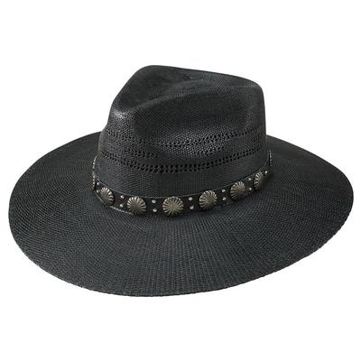 Charlie 1 Horse Black Sure Shot Straw Hat