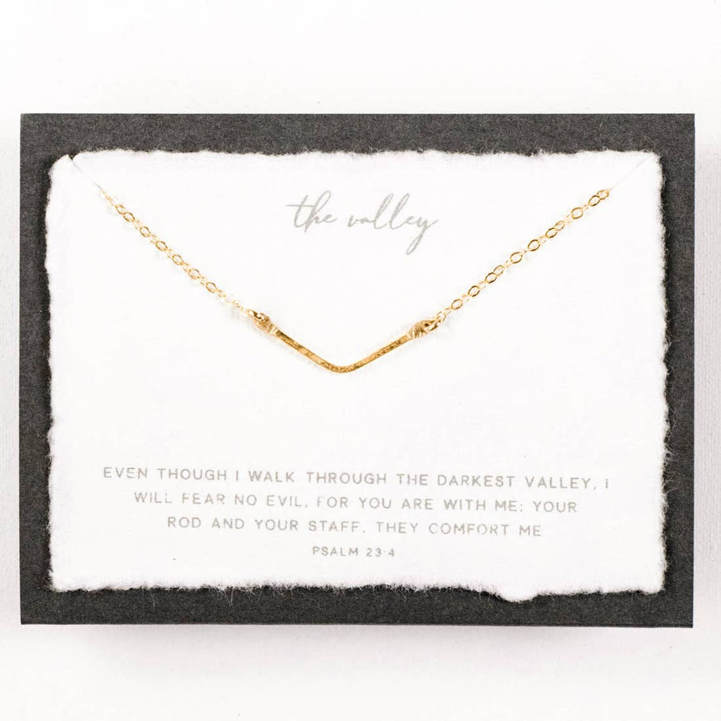 The Mini Valley Gold Necklace
