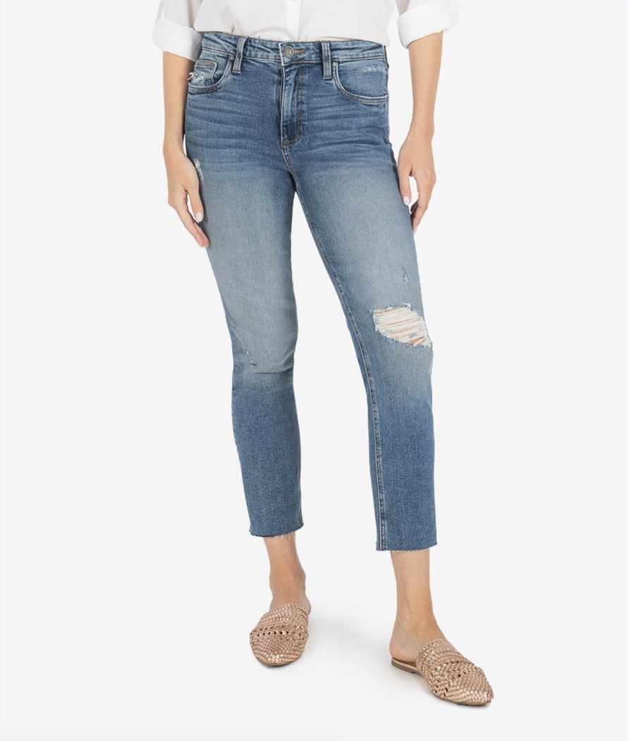 KUT from the Kloth | Rachel Mom Jean in Noticable