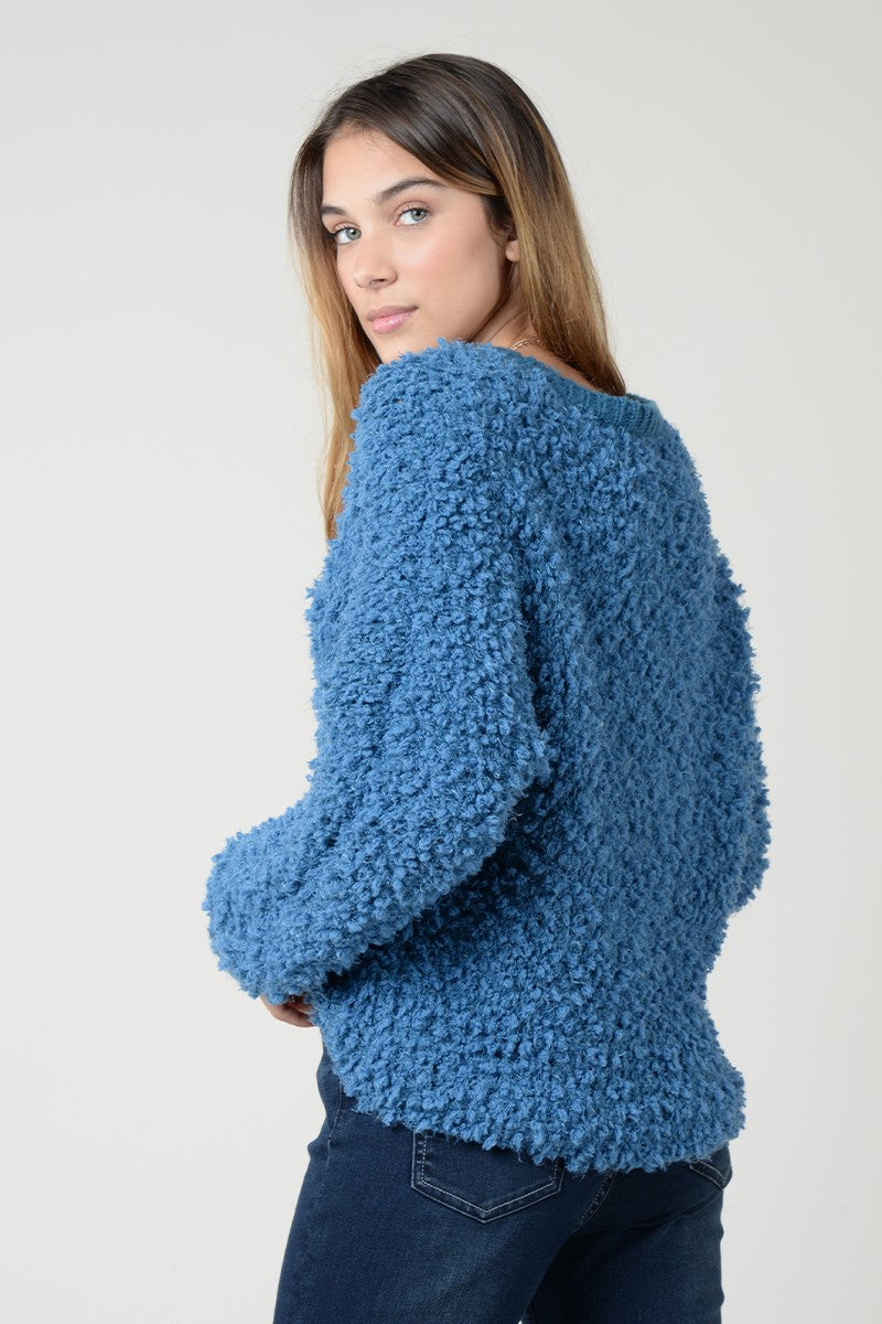 Macey Popcorn Sweater