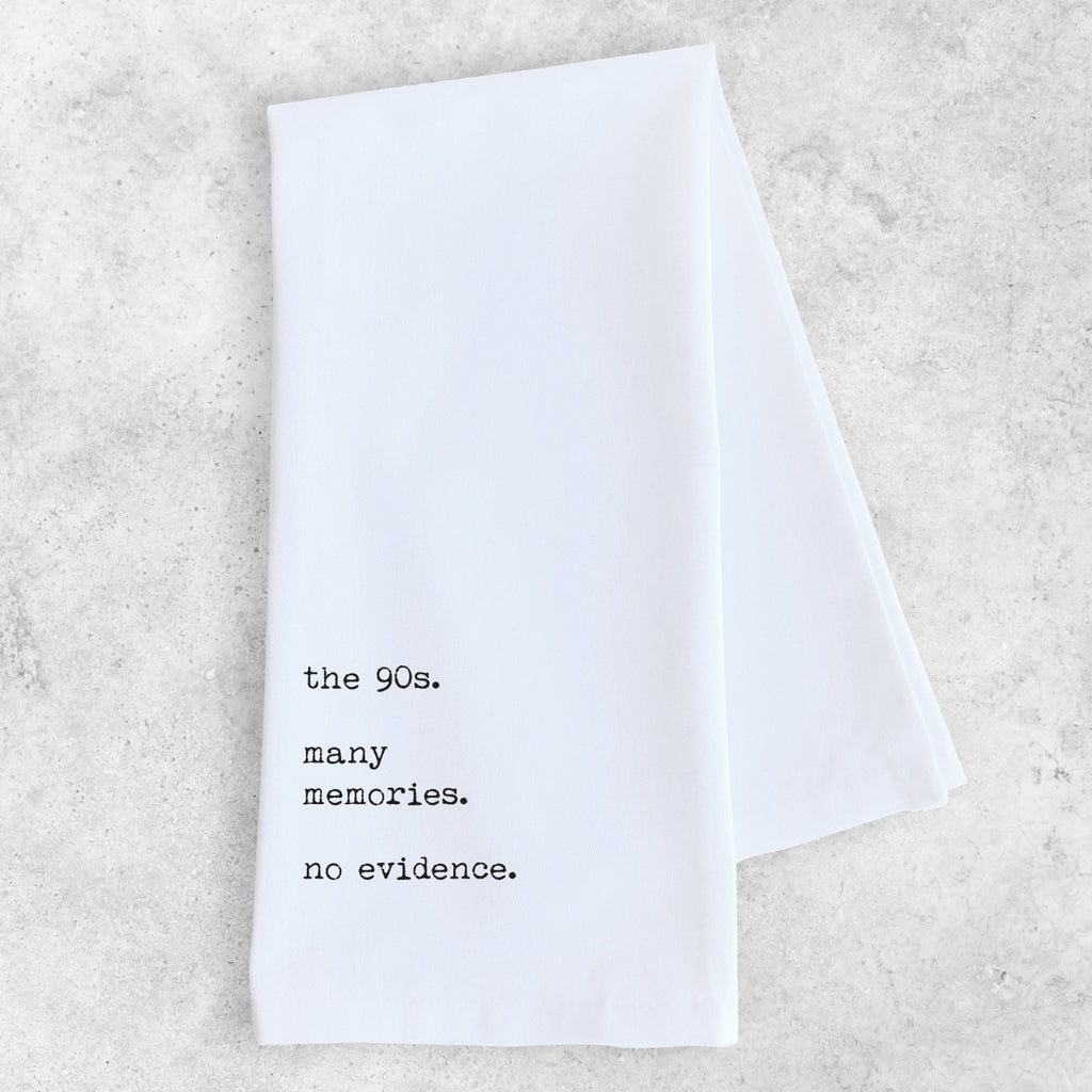 Tea Towel | The 90's