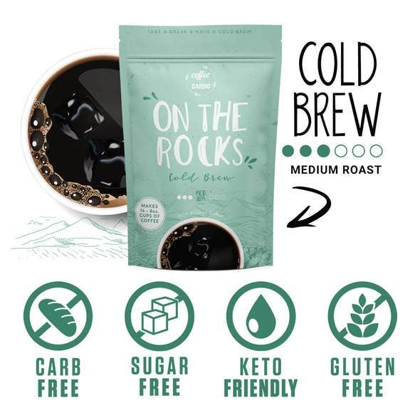 Coffee Over Cardio® | ON THE ROCKS Cold Brew Coffee