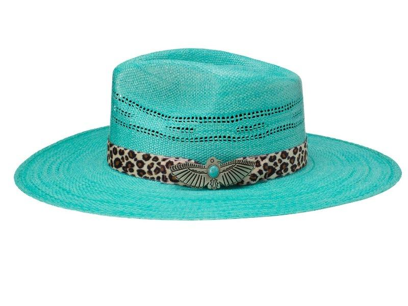"Charlie 1 Horse ""Right Meow"" Straw Hat"