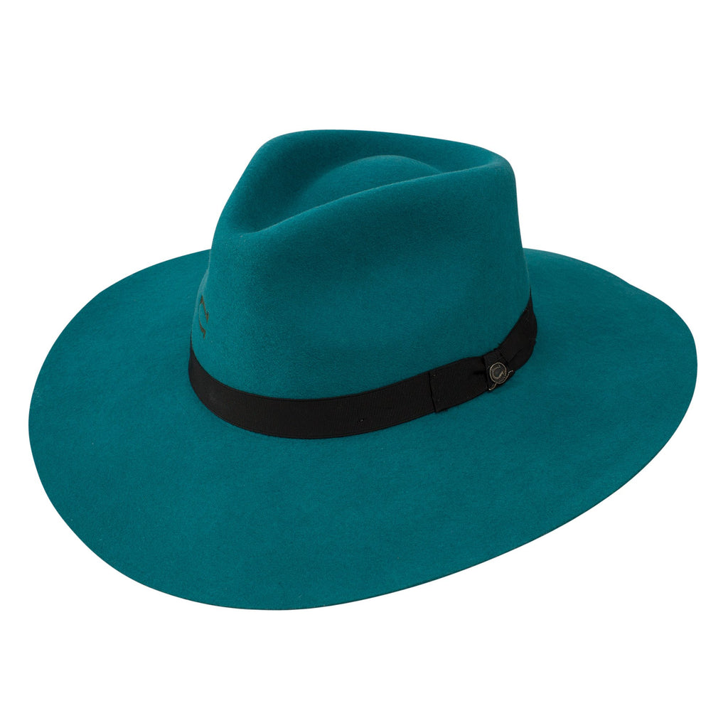 Charlie 1 Horse Highway Wool Teal Hat