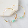 Lenny & Eva Lily Earrings + Amazonite
