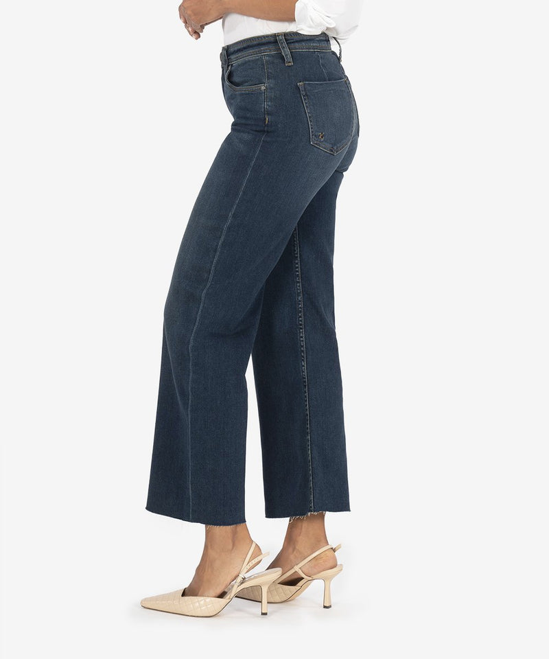 KUT from the Kloth | Angela High Rise Gaucho in Endurance Wash