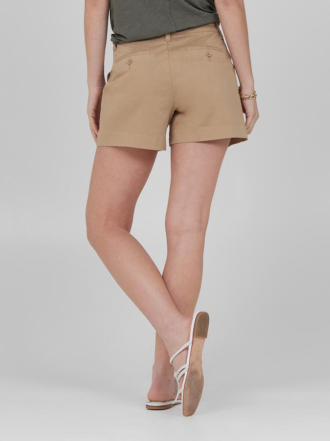 Lila Ryan Susannah Chino Short in Khaki
