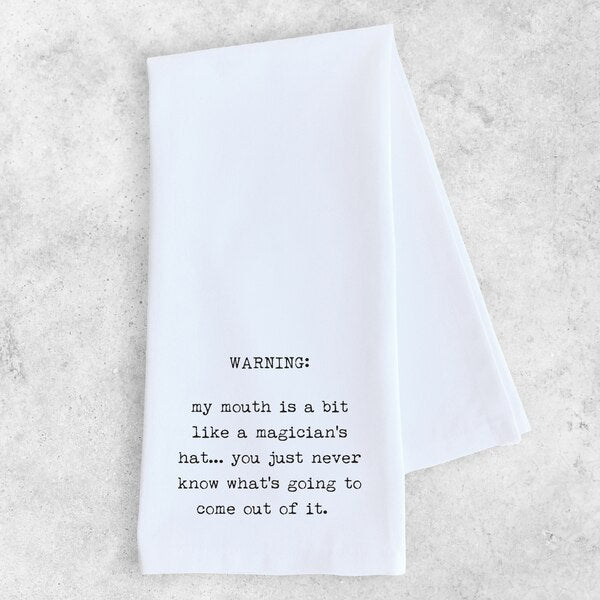 Tea Towel | Magicians Hat
