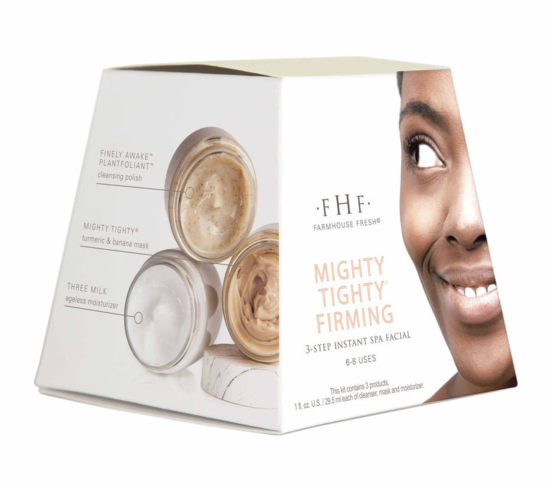 FarmHouse Fresh Mighty Tighty® Firming 3-step Instant Spa Facial