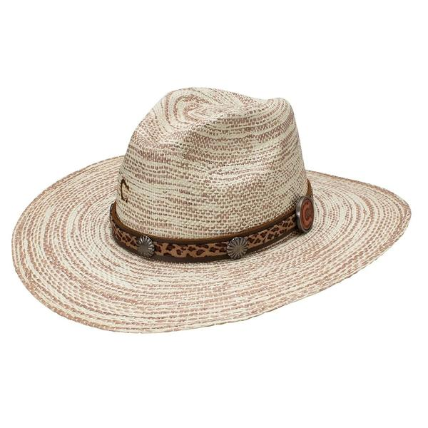 "Charlie 1 Horse ""Prowlin' Around"" Straw Hat"