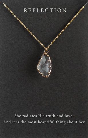 You're A Gem Labradorite Necklace