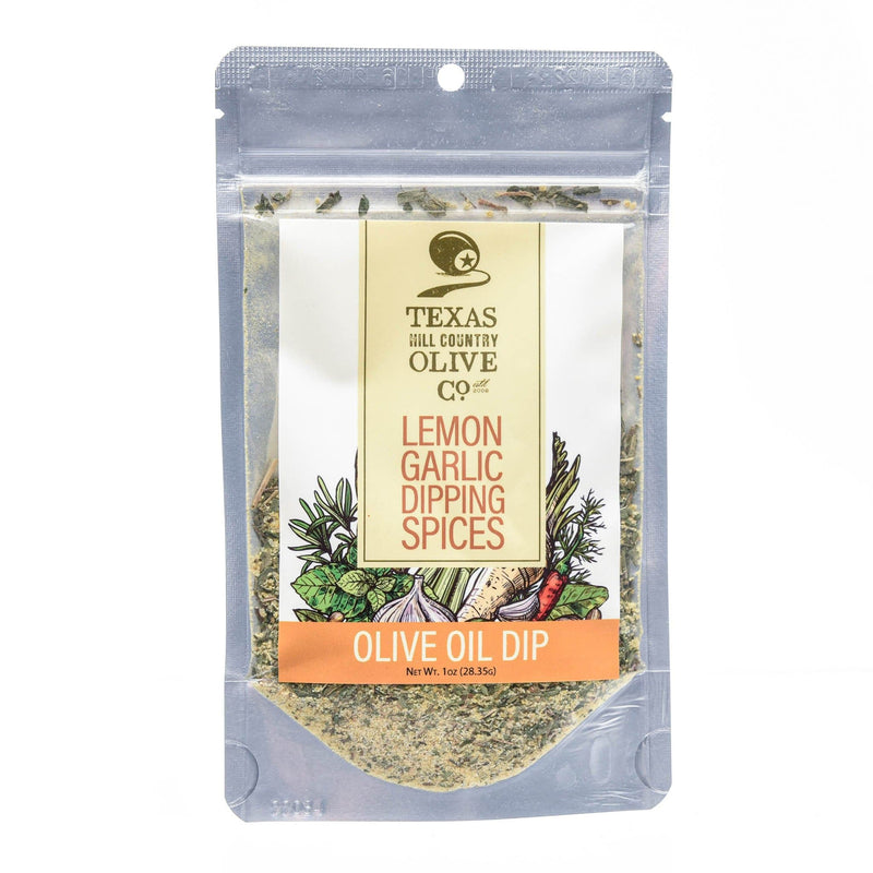 Lemon Garlic Bread Dipping Spices | TX Hill Country Olive Co.