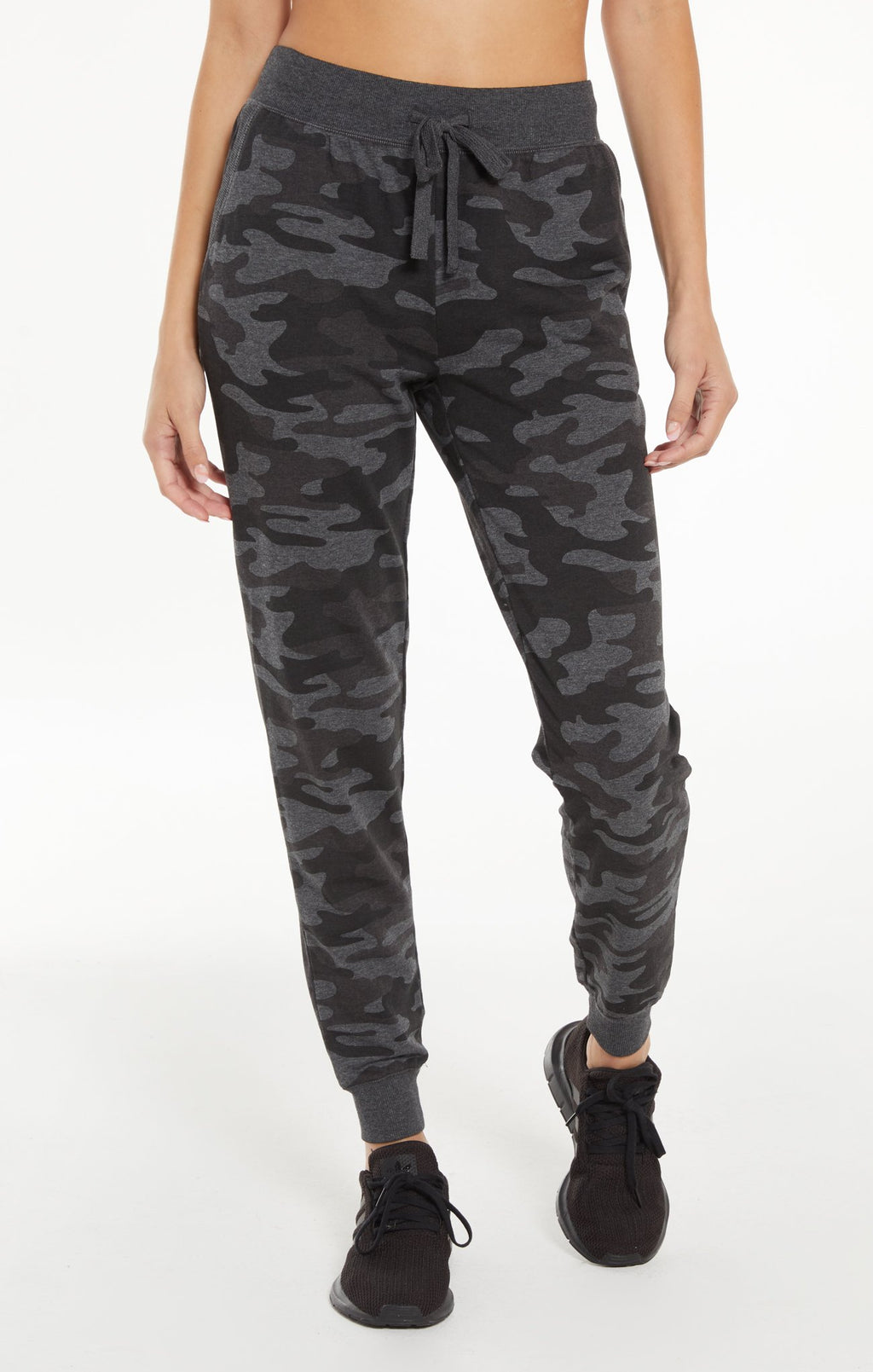 Camo Jogger Pant in Dark Charcoal | Z Supply