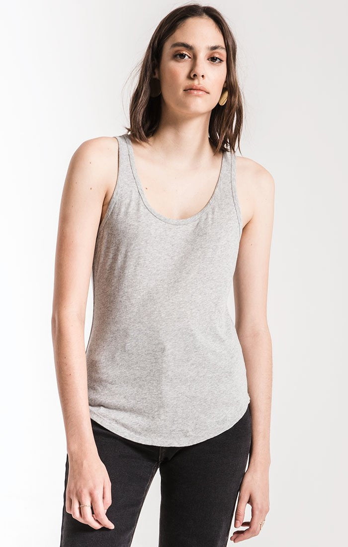 Perfect Tank Top in Heather Grey | Z Supply