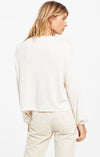 Annie Rib Long Sleeve Top in Bone | Z Supply