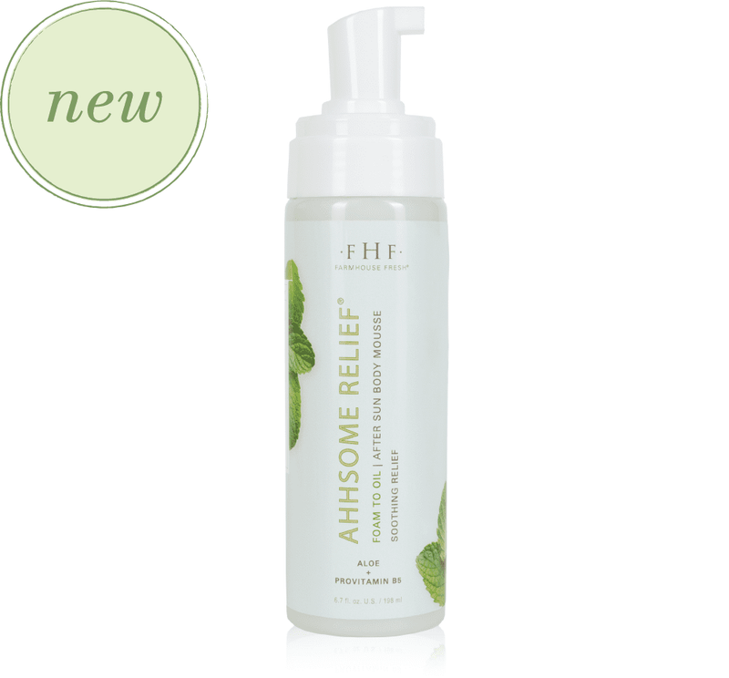 Farmhouse Fresh Ahhsome Relief™ Foam-to-Oil After Sun Body Mousse