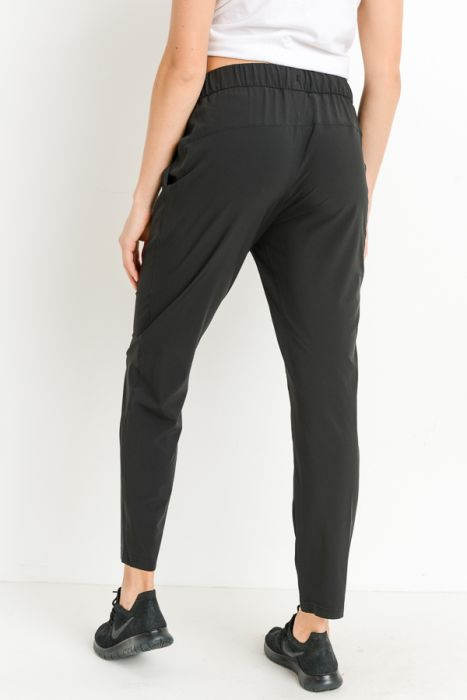 Essential Drawstring Joggers - Black
