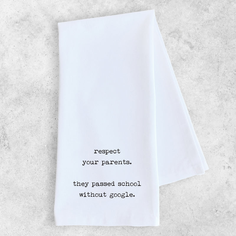 Tea Towel | Respect Your Parents