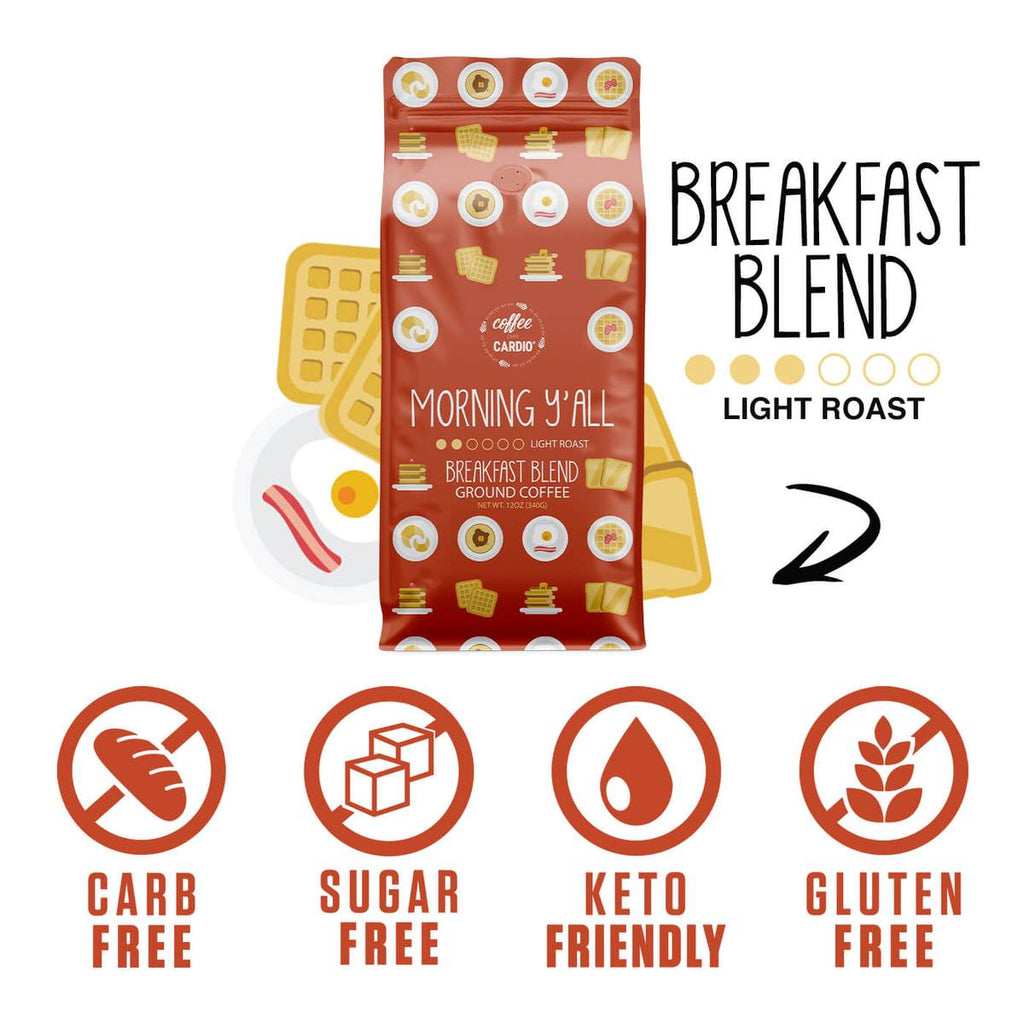 Coffee Over Cardio® | Breakfast Blend Light Roast